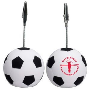 Soccer Stress Reliever Memo Holder